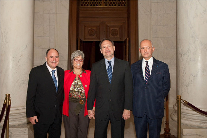 Déjeuner à la Cour Suprême avec le juge Alito et le juge Bonichot
