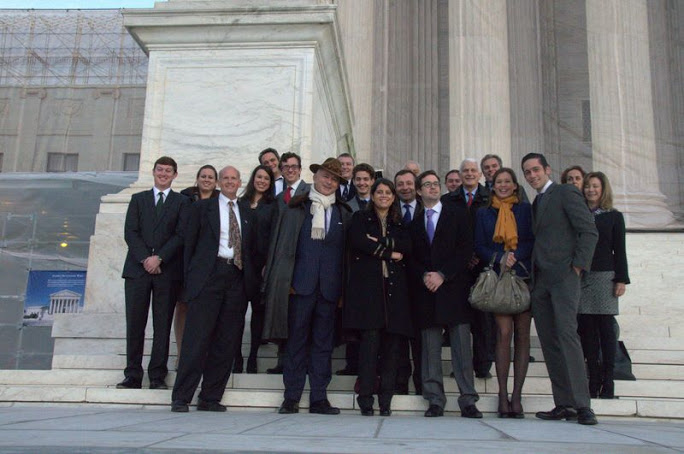 Meeting at the US Supreme Court, Washington DC