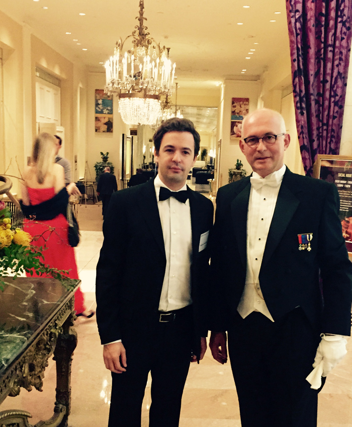 With Stéphane Bonichot at the annual meeting of the Federalist Society