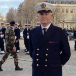 At National Monument with French Navy
