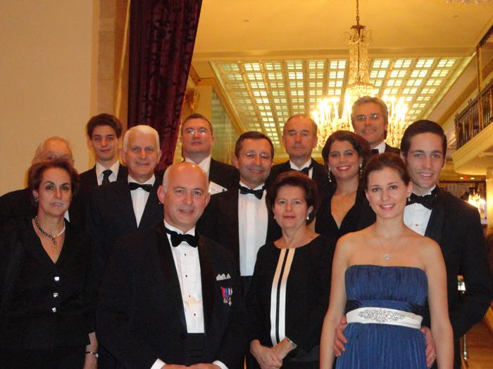 États-Unis : Congrès de la <em>Federalist Society</em>, avec Martine de Boisdeffre, Conseiller d'Etat, invité d'honneur de l'Institut Vergennes, Washington DC,