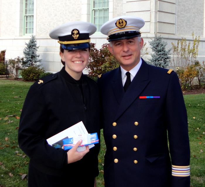 Etats-Unis: Visite de l'Institut Vergennes  à l'Ecole navale d'Annapolis