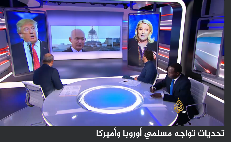 TERRORISME ET DEMOCRATIE: INTERVIEW DE FRANCOIS-HENRI BRIARD PAR ALJAZEERA