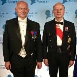 DINER DE GALA DE 2200 COUVERTS A WASHINGTON DC: LE GENERAL D'ARMEE JEAN-LOUIS GEORGELIN ET FRANCOIS-HENRI BRIARD INVITES DE LA FEDERALIST SOCIETY