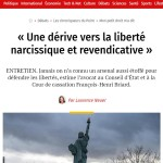 INTERVIEW DE MAITRE BRIARD DANS LE POINT