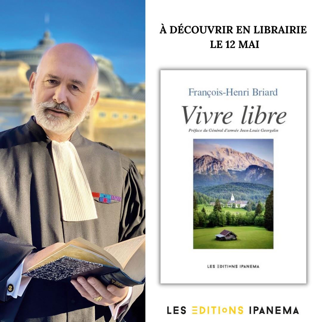 PUBLICATION DU LIVRE «VIVRE LIBRE»