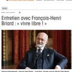 INTERVIEW DE MAITRE BRIARD SUR B SMART